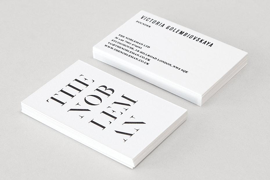 What We Do Business Card F1rstdesign